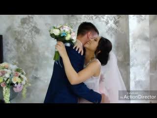 Встреча жениха и невесты. Наш счастливый день.mp4
