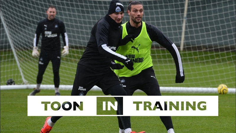 TOON IN TRAINING | Newcastle United Prepare for Aston Villa