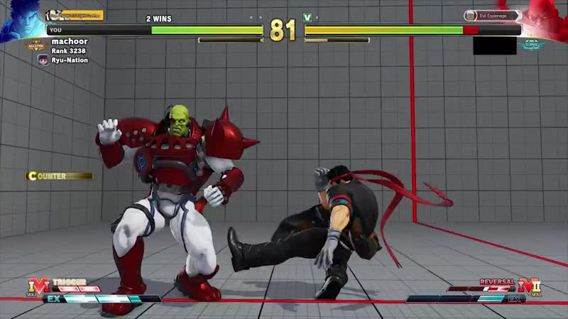 RYU IS A GUILE NOW