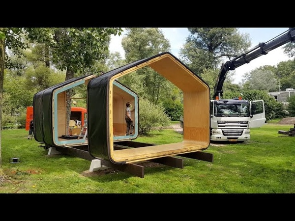 A Modular Home Made From Cardboard With Unlimited Footprint Possibilities