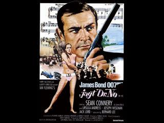 Джеймс Бонд. Агент 007. Фильм 1: Доктор Ноу ( Великобритания 1962 год ) FullHD