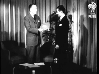 Un General Assembly President Praises The Movies (1950)
