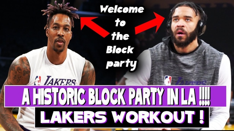 Dwight Howard And JaVale McGee workout | Was today the best Block Performance in Lakers History