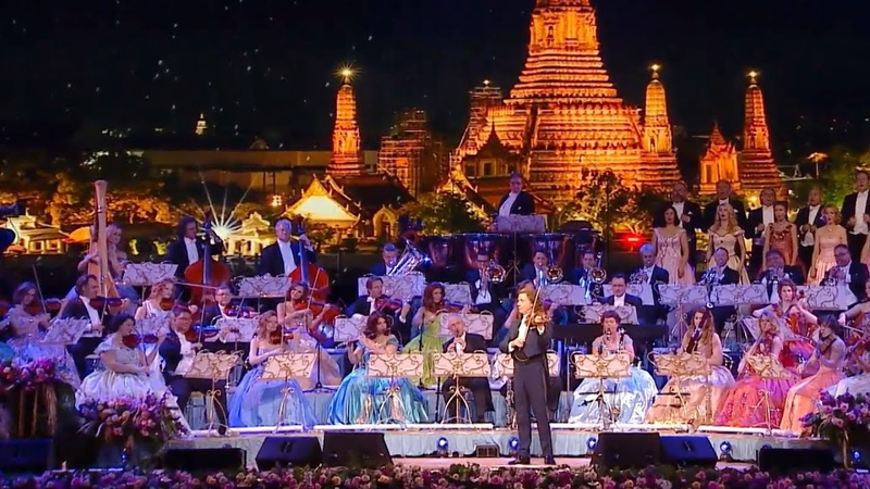 André Rieu Loy Krathong เพลงลอยกระทง Live in Bangkok