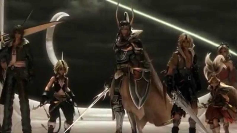 Dissidia Final Fantasy Intro The Best Intros