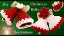 Como hacer fácil campanas de Navidad decoraciones adornos