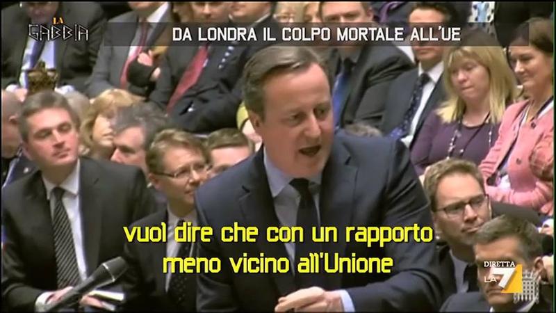 Da Londra il colpo mortale all'UE