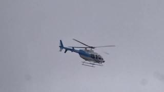 Над Черкассами и областью летал вертолет   Bell 407 GX .   UR-CLM