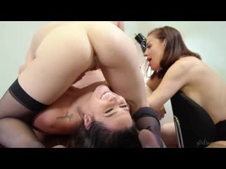 Sovereign Syre, Karlee Grey and Jade Nile - Rival Interns - Porno, Lesbian, Porn, Порно