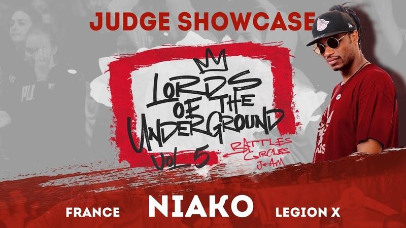 NIAKO | JUDGE SHOWCASE| LORDS OF THE UNDERGROUND BATTLE vol.5