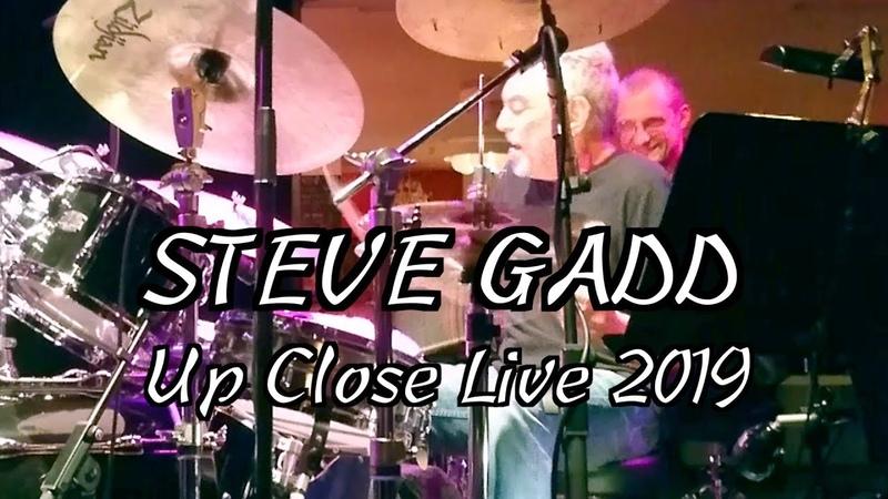 Steve Gadd Up Close Live 2019 with Blicher Hemmer
