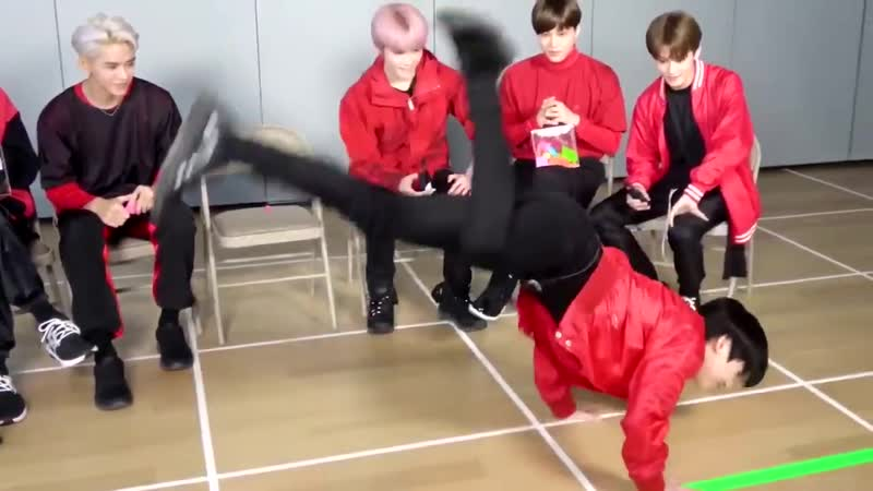 Superm played Truth or Dare with our submissions he had to imitate Taeyong's dance from No Manners Taemin