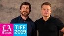 Matt Damon and Christian Bale on balancing parenthood and work
