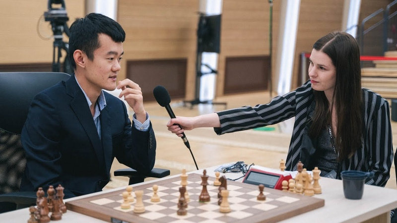 Interview with FIDE World Cup finalist Ding Liren