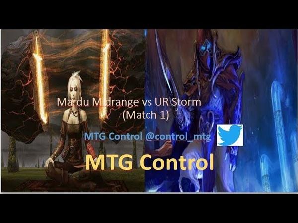 MTG Mardu Midrange vs UR Storm - Match 1- Modern
