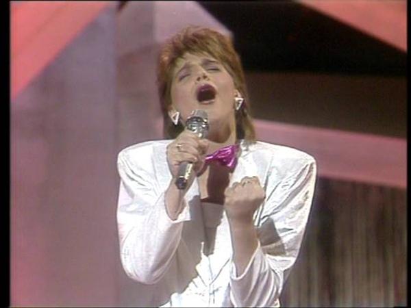 1986 Eurovision Belgium Sandra Kim J'aime la vie HQ