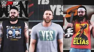 WWE 2K19:Wrestlemania 36 Kevin Owens,Austin Theory,Daniel Bryan,Elias & Bobby Lashley Updated Attire