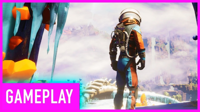 Journey To A Savage Planet Co-op Gameplay   PAX West 2019