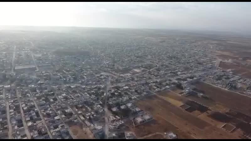 20.08.19 Олег Блохин опубликовал видеосъёмку с БПЛА западной части Хан-Шейхуна