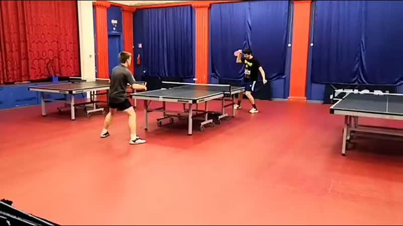 Палин Денис Барсуков Дмитрий турнир ttplayspb по настольному теннису