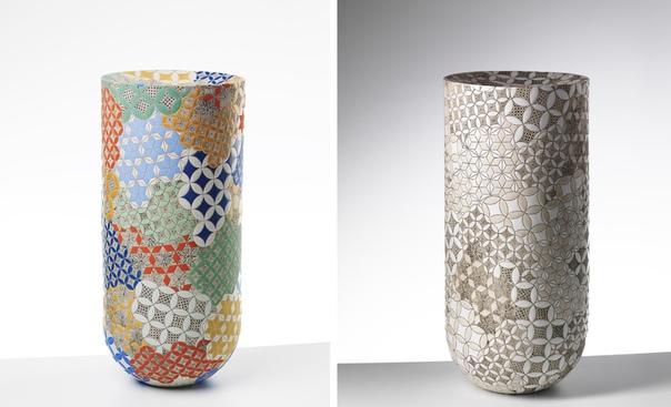 Керамика усеянная орнаментами