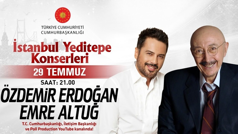 Özdemir Erdoğan Emre Altuğ İstanbul Yeditepe Konserleri