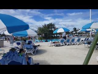 Cabana rental. Coco Cay. Oasis pool