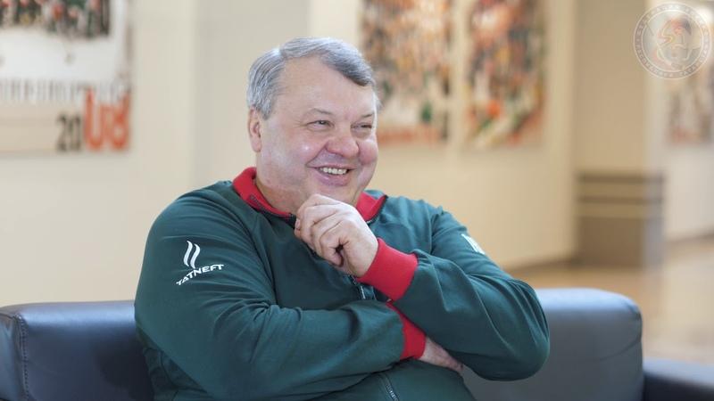 Ветеран казанского хоккея Абрамов Сергей Михайлович.