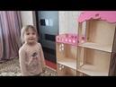 Огромный домик для кукол барби из дерева/ обзор очередной игрушки для детей