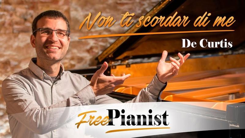 Non ti scordar di me KARAOKE PIANO ACCOMPANIMENT F minor De Curtis