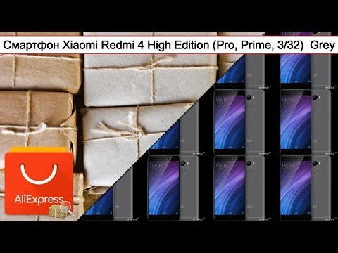 Смартфон Xiaomi Redmi 4 High Edition Pro Prime 3 32 Grey Обзор