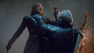 Arya Stark Kills The Night King   Game of Thrones S08E03