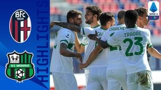 Bologna 3-4 Sassuolo | De Zerbi rimonta il Derby e sale al 2° posto | Serie A TIM