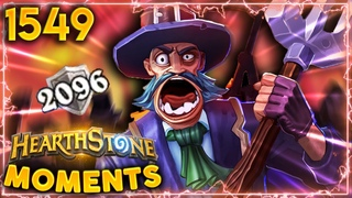 2096 Armor WON'T Save You FROM JADES!   Hearthstone Daily Moments