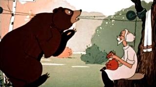 Павлиний хвост - добрый советский мультфильм (1946) СССР