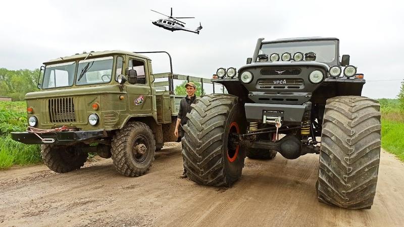 Игрушка или вездеход Военный ГАЗ 66 VS УАЗ БИГФУТ