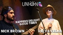 Nick Brown Valya Valna - Rappers delight / Good Times (cover) Live @ Union Bar
