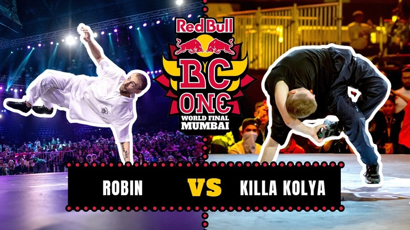 B Boy Robin vs B Boy Killa Kolya Top 8 Red Bull BC One World Final Mumbai 2019