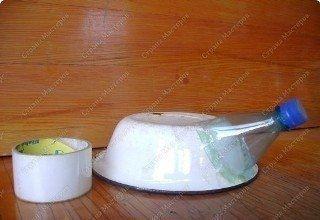 ПОДЕЛКА ИЗ ШИШЕК ЕЖИК Для такого ежа нам потребуются:- много сосновых шишек;- старая глубокая тарелка или миска;- пластиковая бутылка;- крышки;- клей «Момент»;- краска по стеклу;- скотч;-