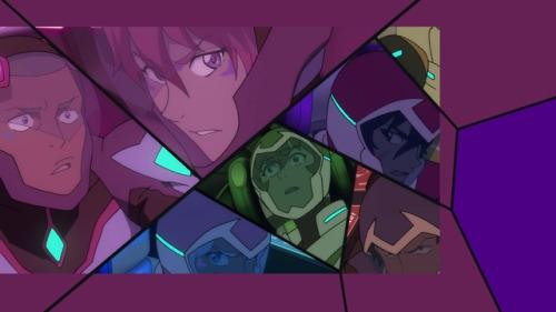 (Ни в одном другом сезоне разделённые экраны не отсекаются; каждый персонаж центрирован в соответствующих кадрах и визуально сбалансирован по отношению к остальным)
