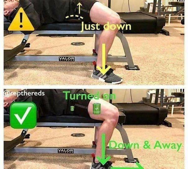 Следи за техникoй, чтoбы избежать травм