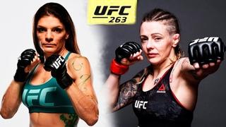Лорен Мерфи против Джоанн Калдервуд бой в UFC 263