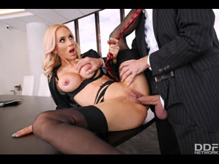 Sarah Jessie - Nailed By Boss' Big Cock  [MILF, Big Tits, Gonzo, Hardcore, All Sex, Cum In Mouth, 1080p]