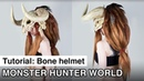 How to Bone Helmet Monster Hunter World Monsterhunter Cosplay