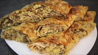 Эта начинка для лаваша самая вкусная и сытная! Легко и быстро готовится, съедается с аппетитом!
