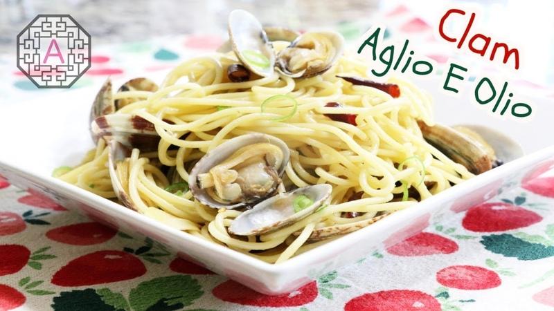 Clam Spaghetti Aglio E Olio 바지락 알리오 올리오 Aeri's Kitchen