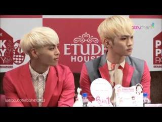 [1080 HD Eng Sub] 130827 - SHINee @ EPPP Singapore Press Conference