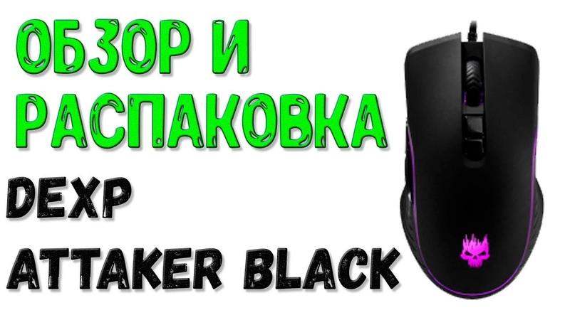 Обзор И Распаковка Мышки Dexp Attaсker Black