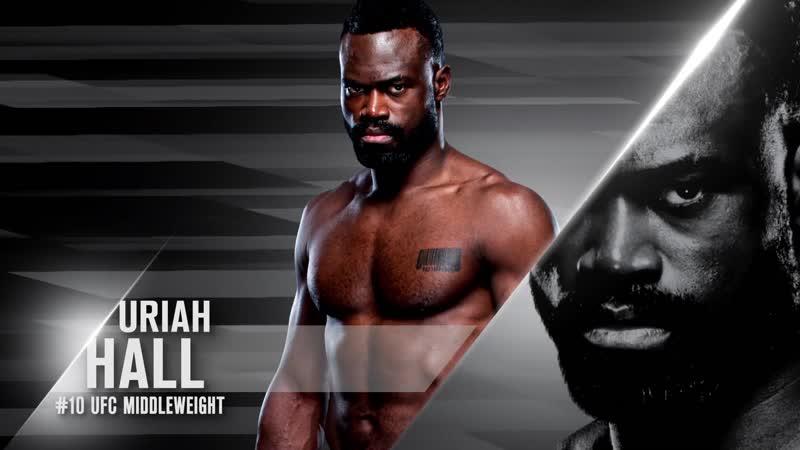 Промо UFC Вегас 12 Холл vs Силва