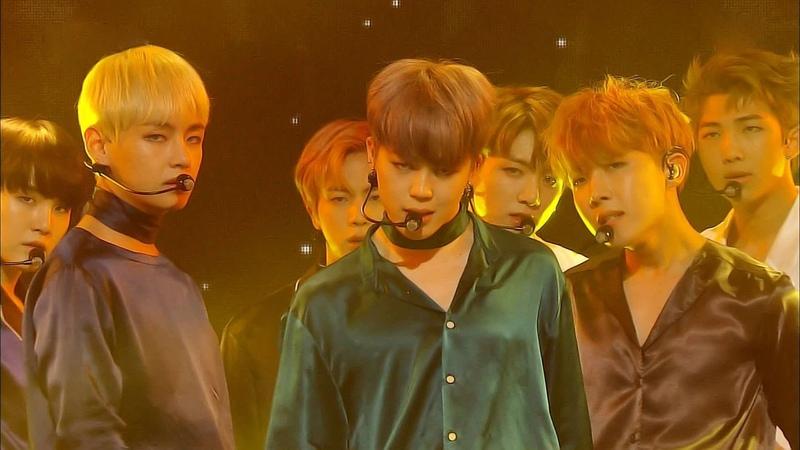 《SEXY》 BTS 방탄소년단 Blood Sweat Tears 피 땀 눈물 @인기가요 Inkigayo 20161023